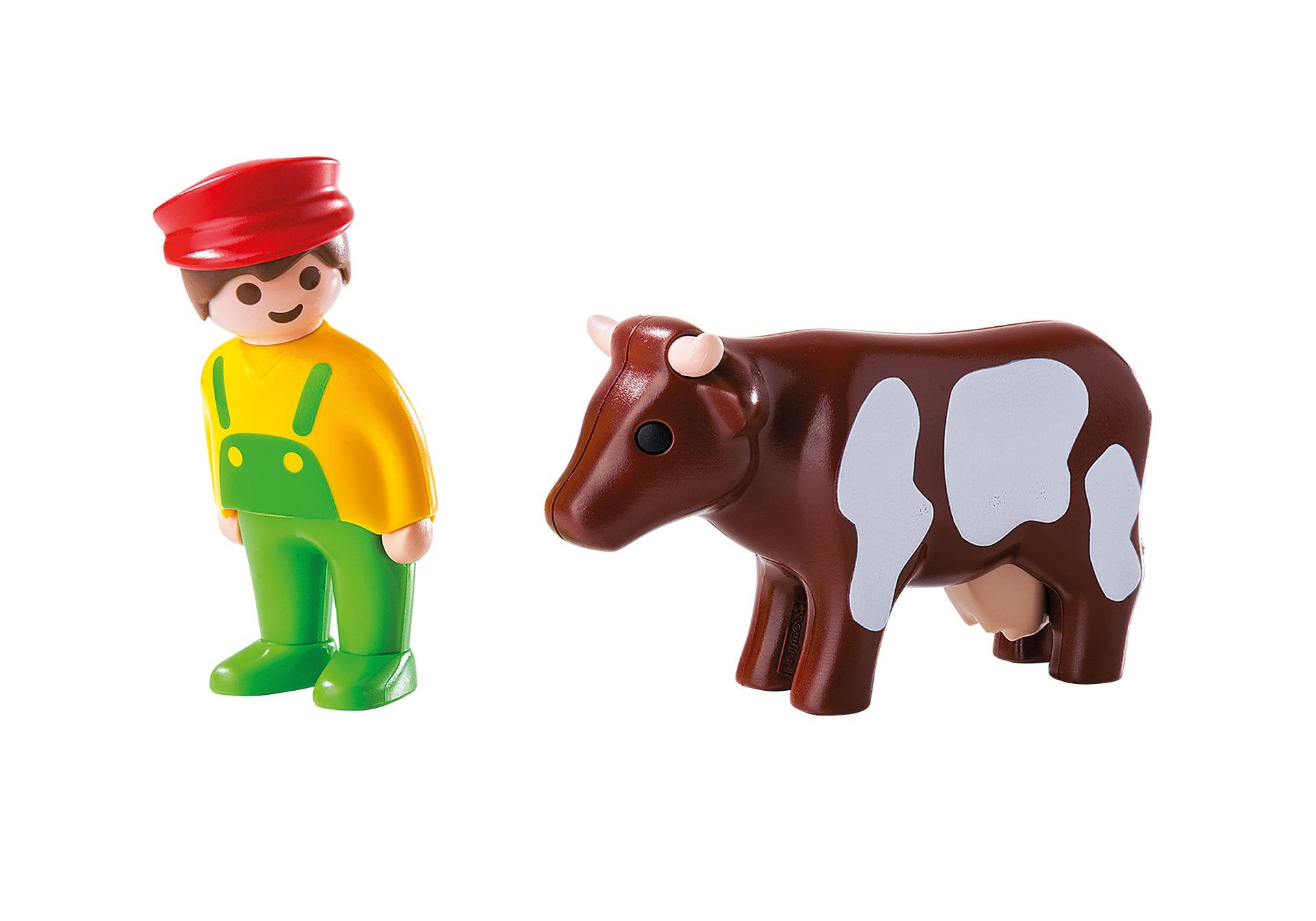 6972 Farmer with Cow zoom image3