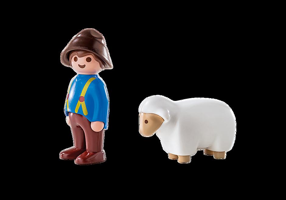 6974 Shepherd with Sheep detail image 3
