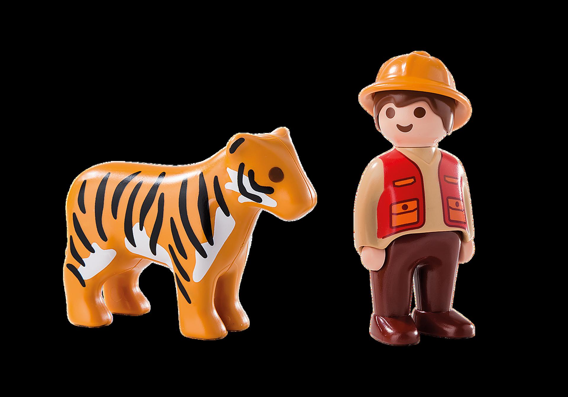 6976 Wildhüter mit Tiger zoom image3