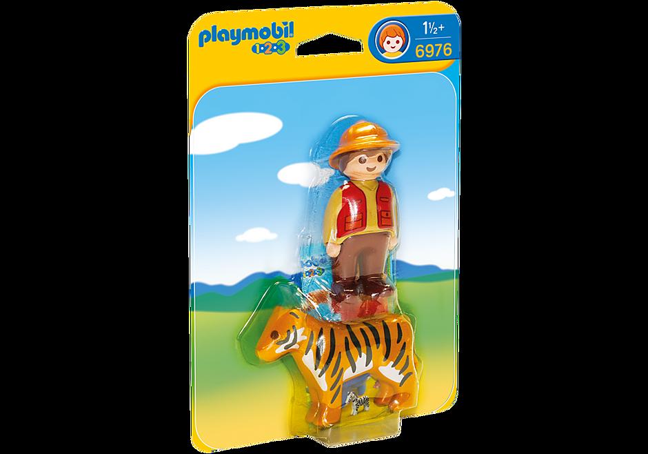 6976 Wildhüter mit Tiger detail image 2