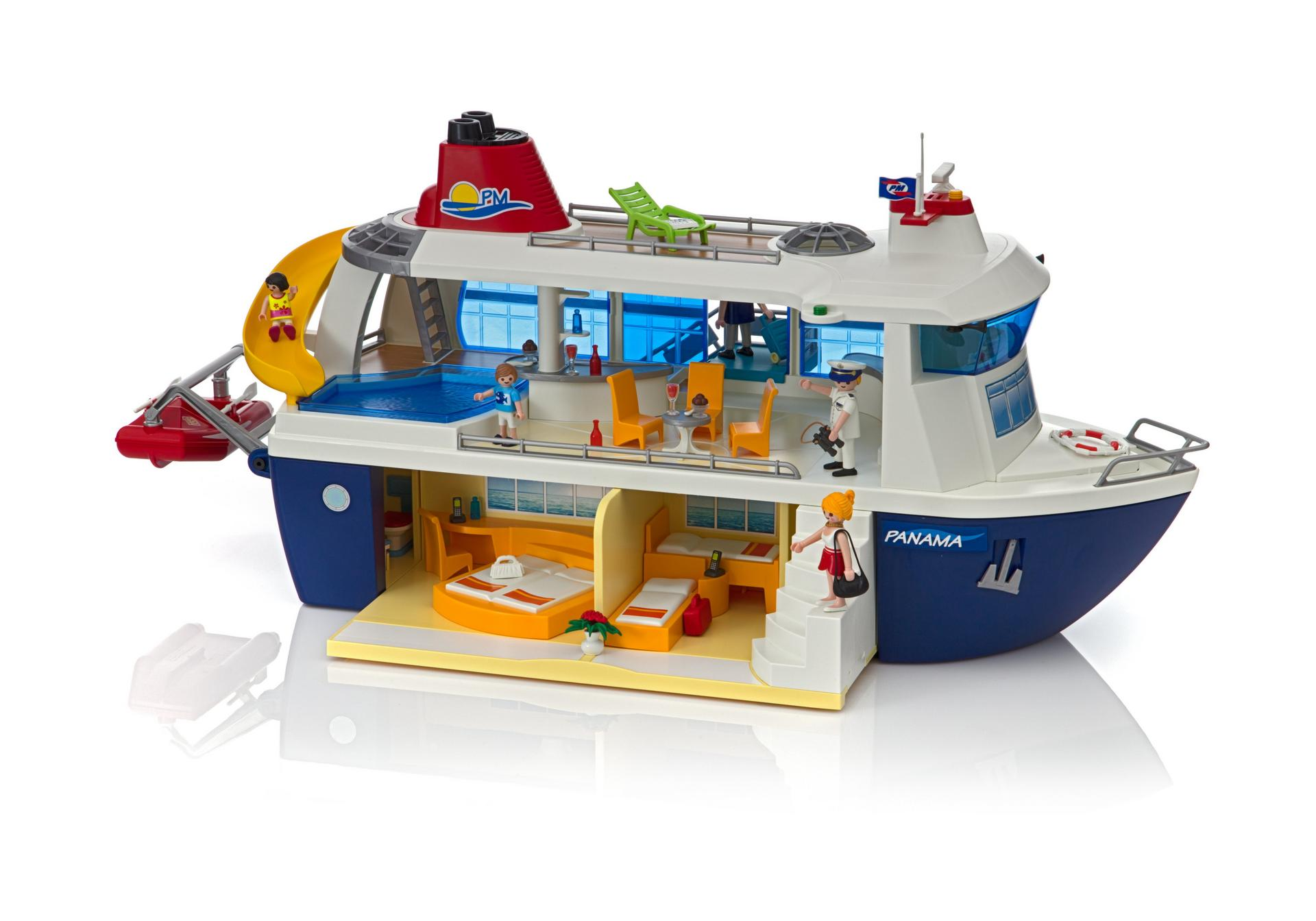 Ausmalbilder Playmobil Wild Life : Cruise Ship 6978 Playmobil Usa