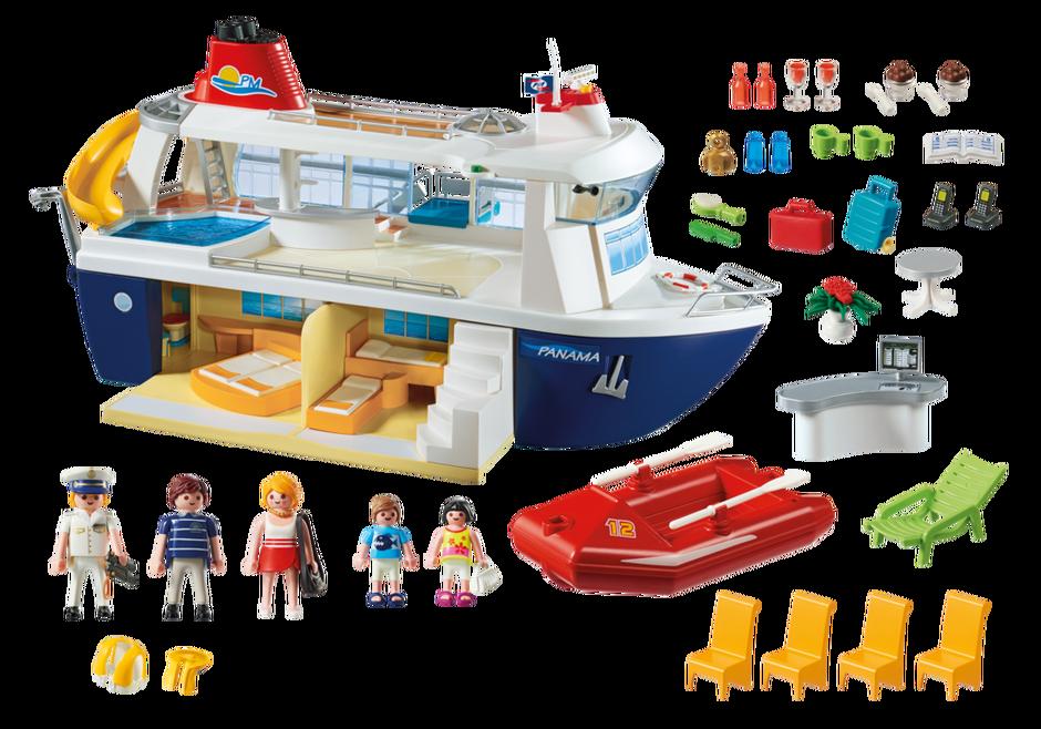 Bateau de croisi re 6978 playmobil france for Playmobil 5433 famille avec piscine et plongeoir