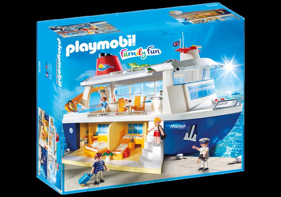Kreuzfahrtschiff 6978 playmobil deutschland for Prix piscine playmobil