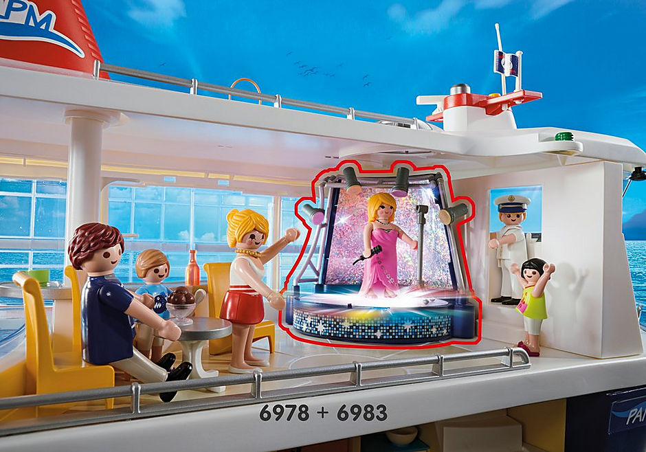 6978 Cruise Ship detail image 10