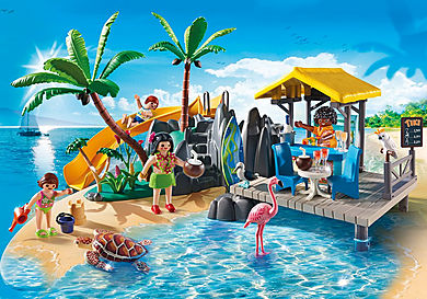 6979 Karibikinsel mit Strandbar