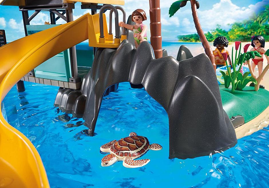 6979 Karibikinsel mit Strandbar detail image 7