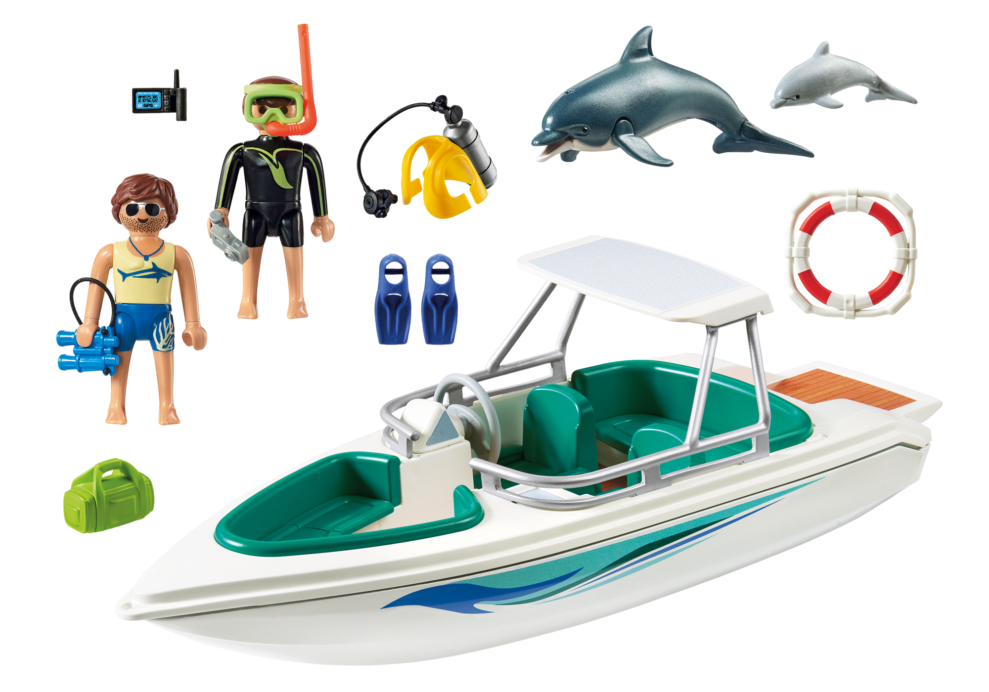 Diving Trip With Speedboat 6981 Playmobil 174 United Kingdom
