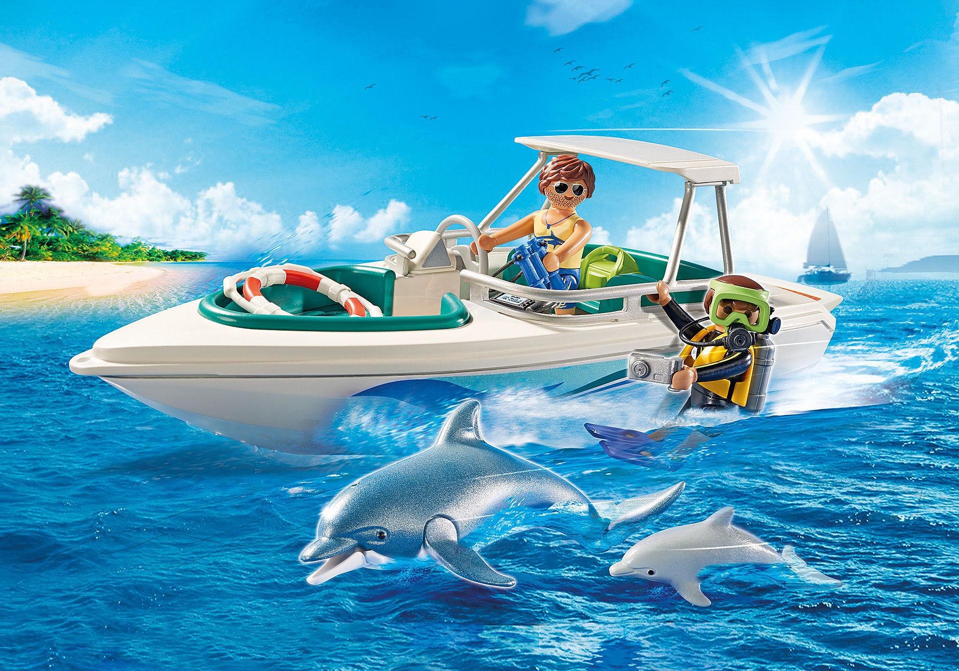 6981 Equipa de Mergulho com Barco zoom image1