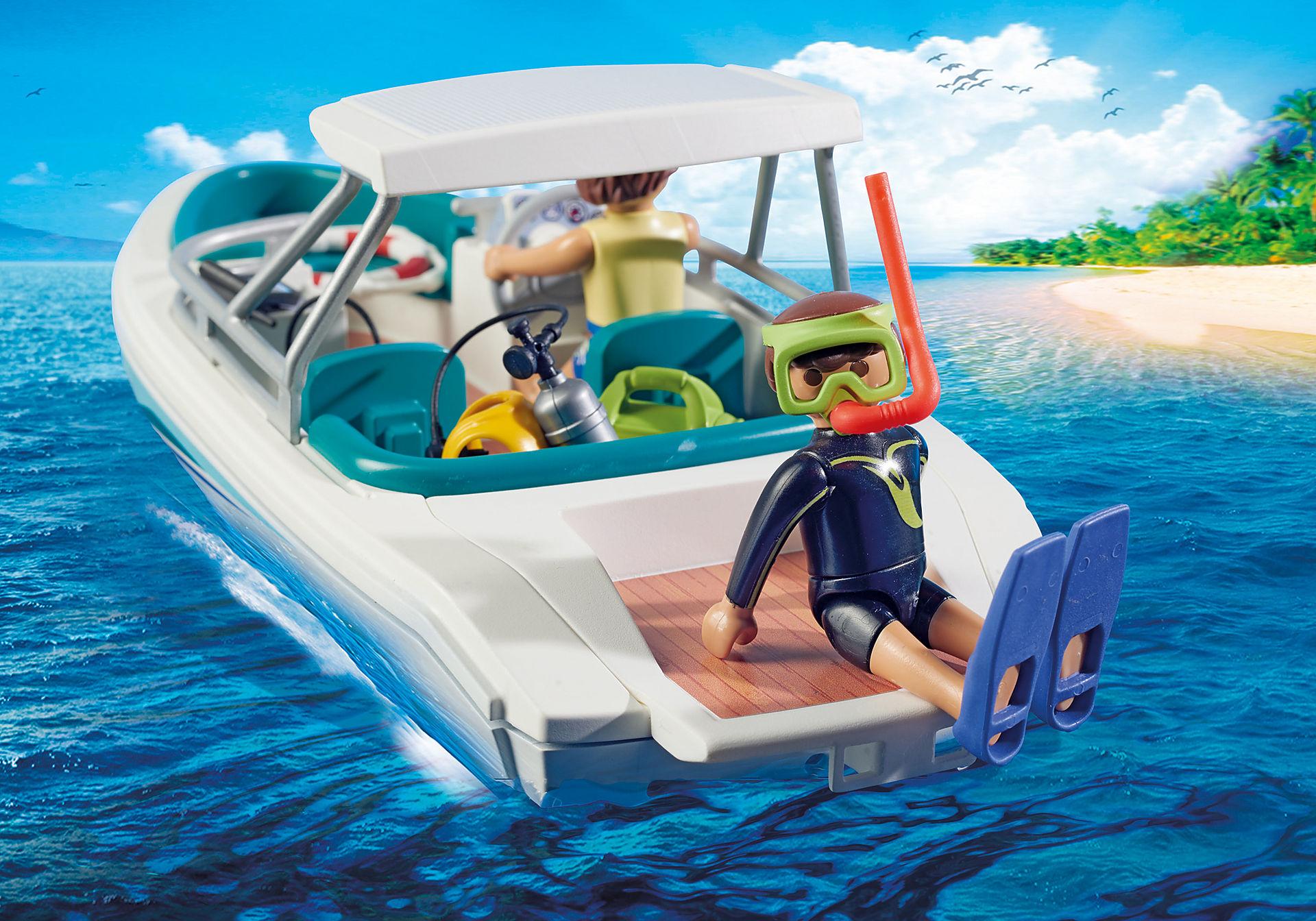 6981 Equipa de Mergulho com Barco zoom image5