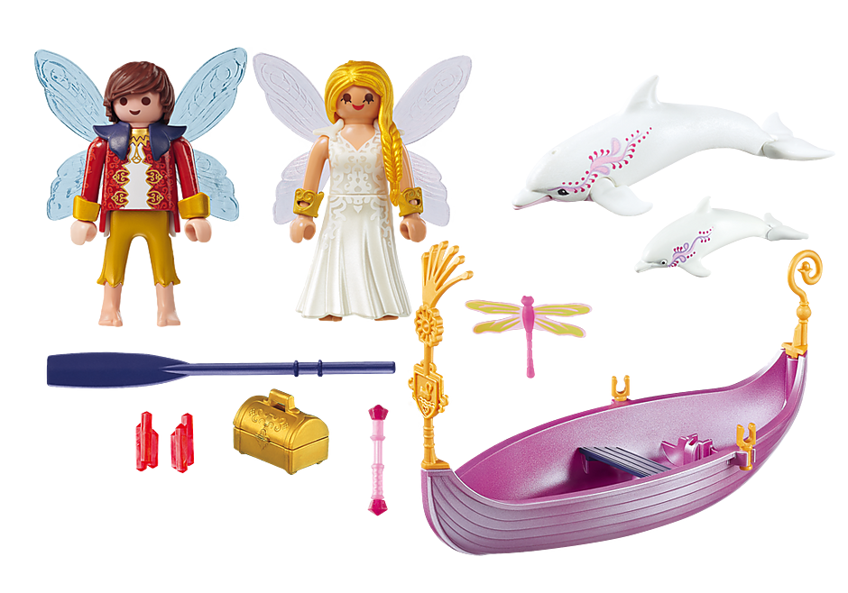 70000 Romantic Fairy Boat detail image 3