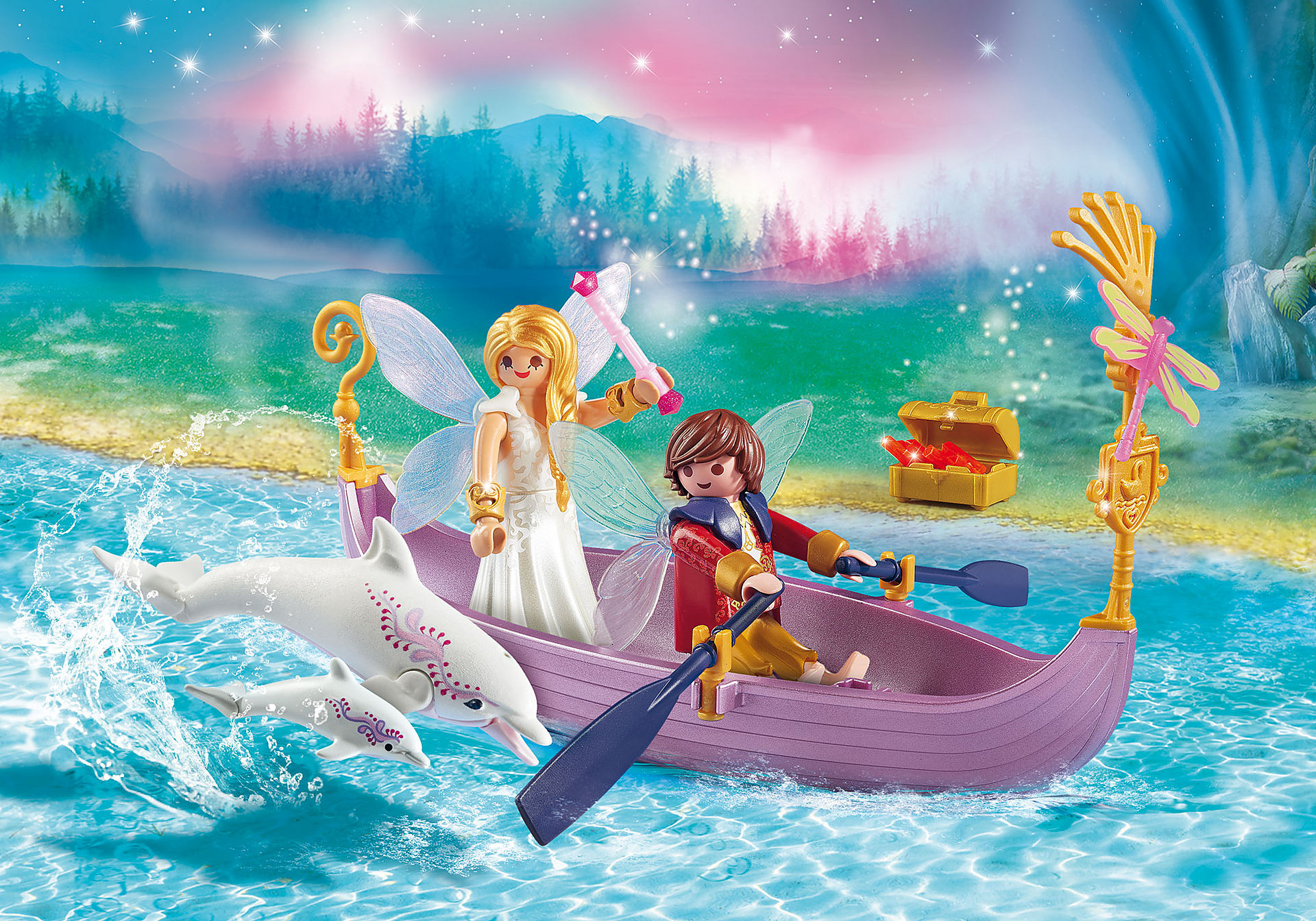 70000 Romantic Fairy Boat zoom image1