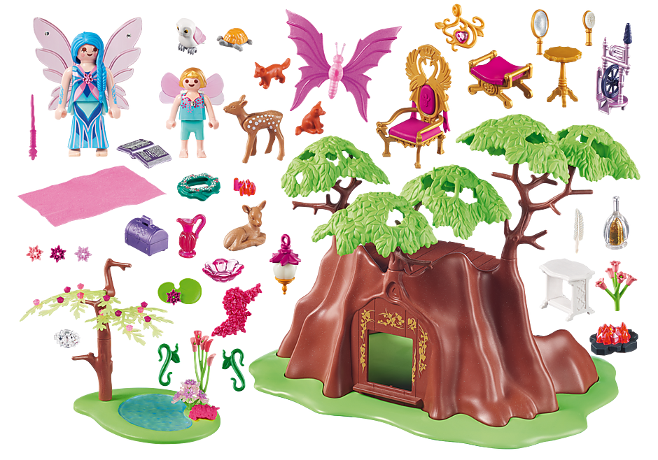 70001 Maisonnette forestière des fées detail image 3
