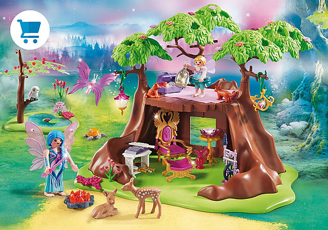 70001_product_detail/Fairy Forest House