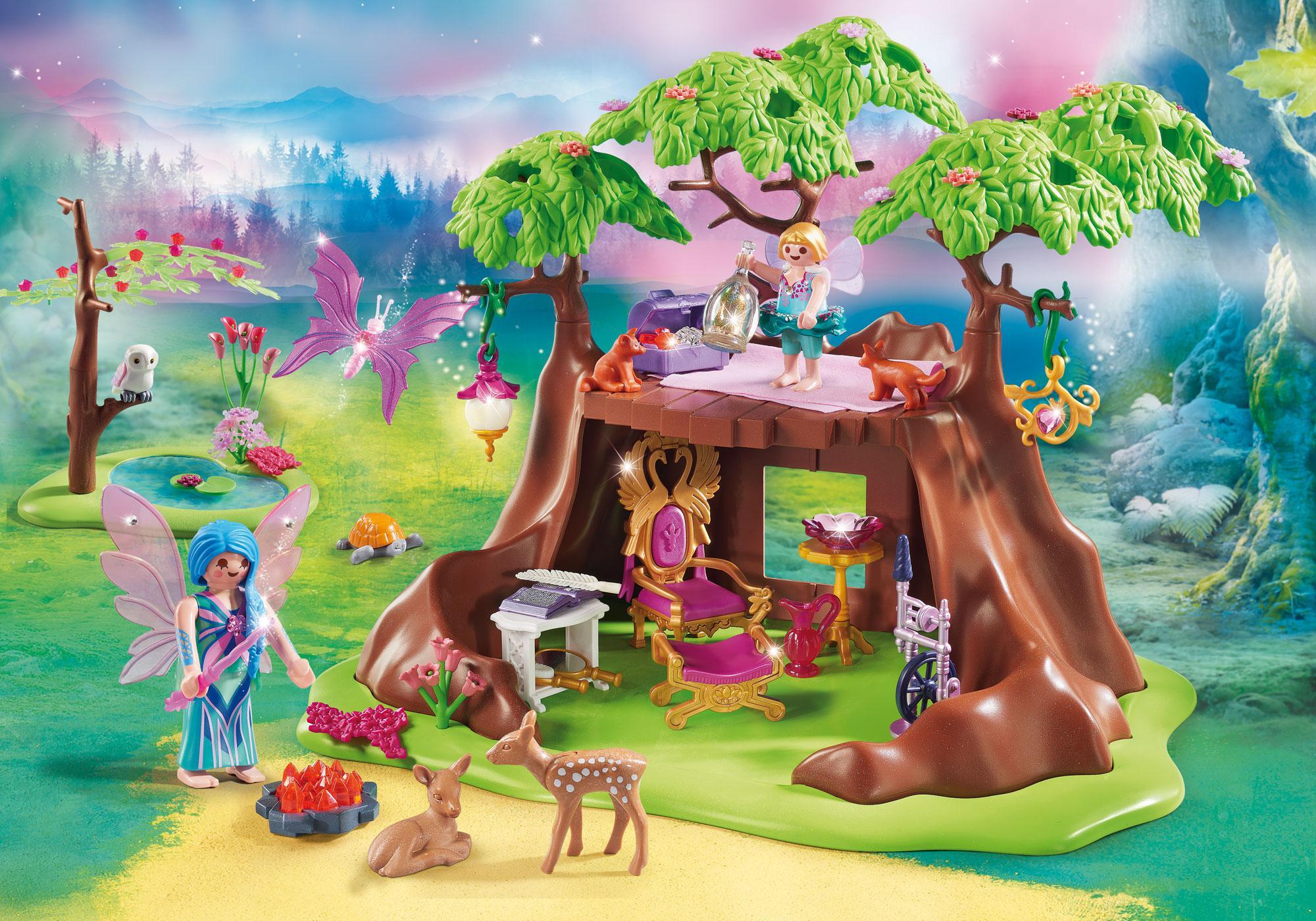 70001_product_detail/Maisonnette forestière des fées