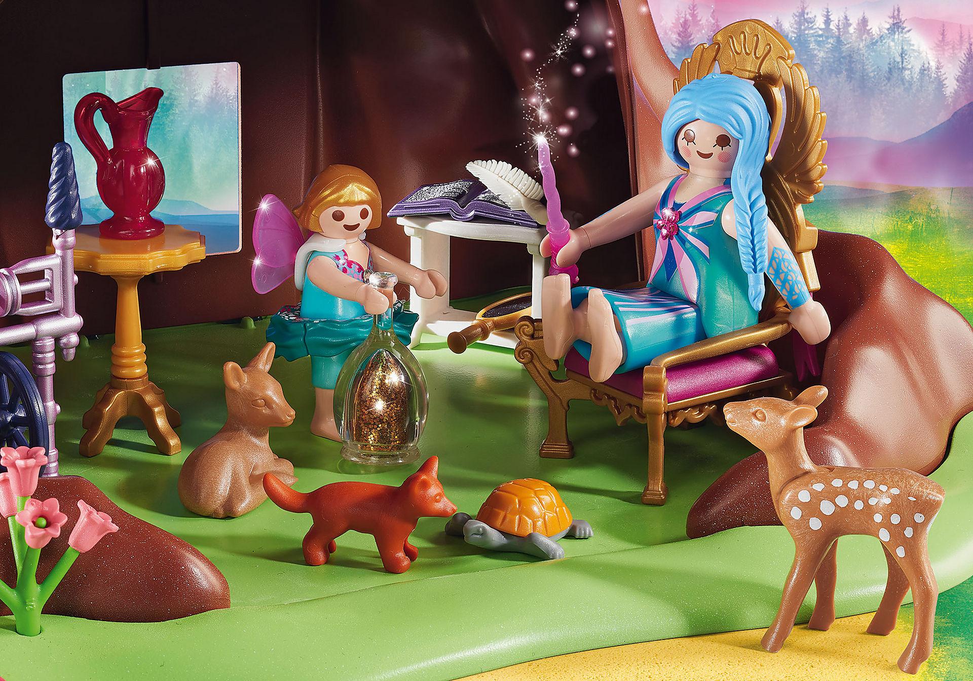 http://media.playmobil.com/i/playmobil/70001_product_extra2/Maisonnette forestière des fées
