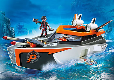 70002 Bateau Turbo Spy Team