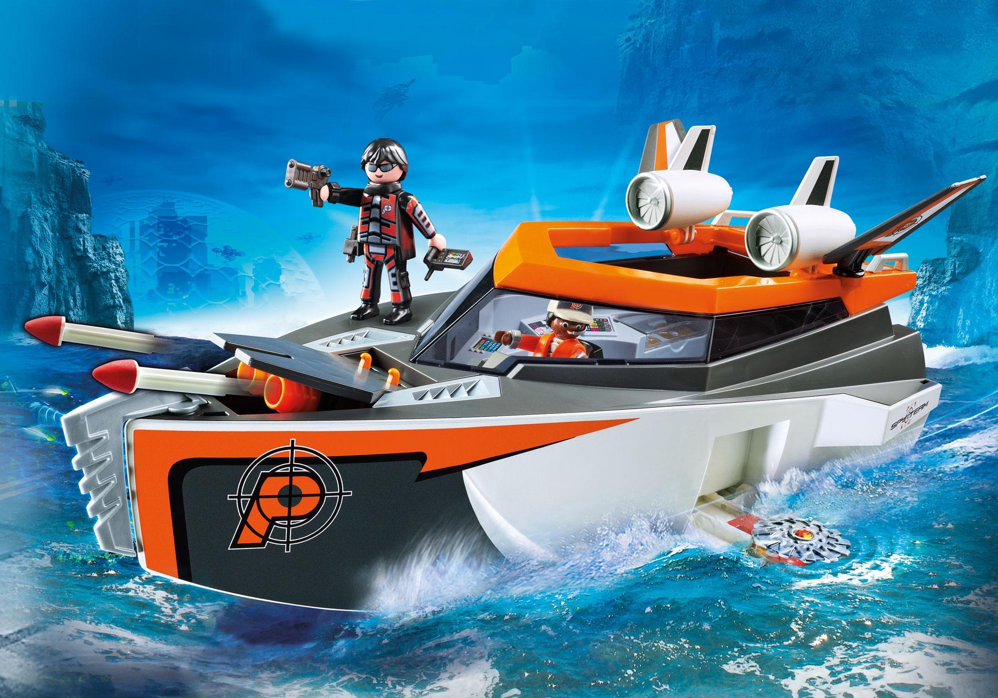 http://media.playmobil.com/i/playmobil/70002_product_detail/Bateau Turbo Spy Team