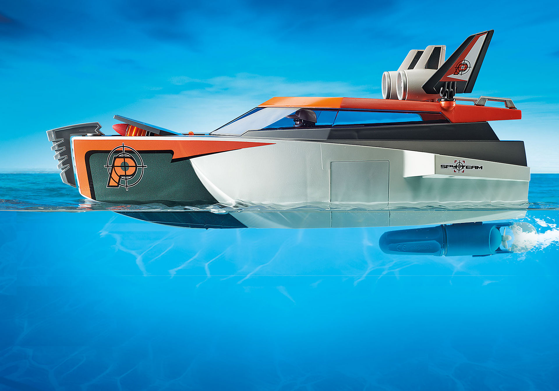 70002 Motoscafo Turbo dello Spy Team zoom image5