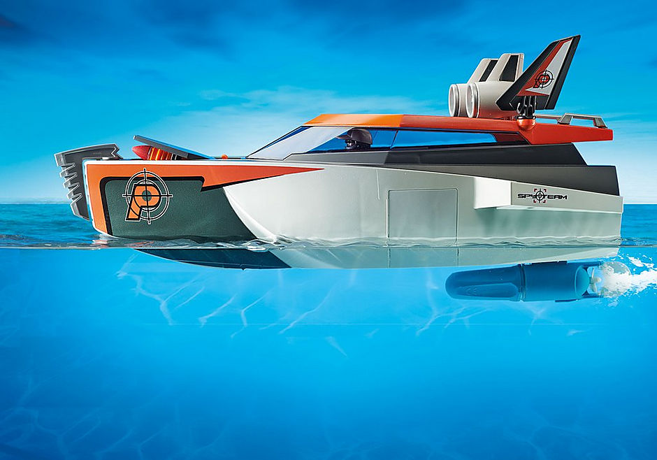 70002 SPY TEAM Turboship detail image 5