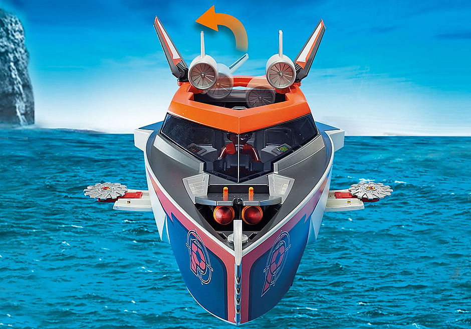 70002 Motoscafo Turbo dello Spy Team detail image 7