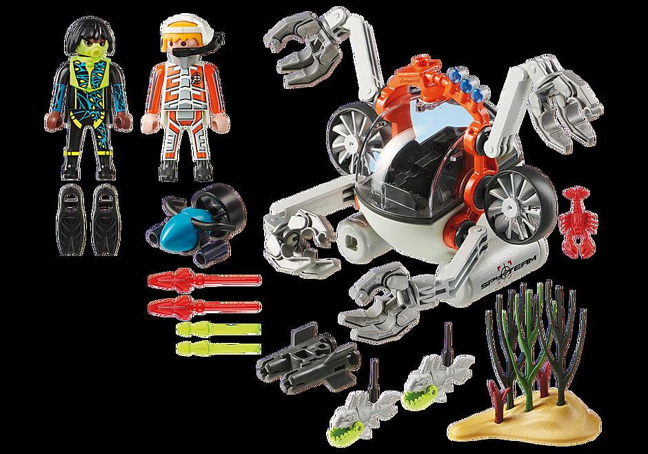 70003 Υποβρύχιο Ρομπότ της Spy Team  detail image 3