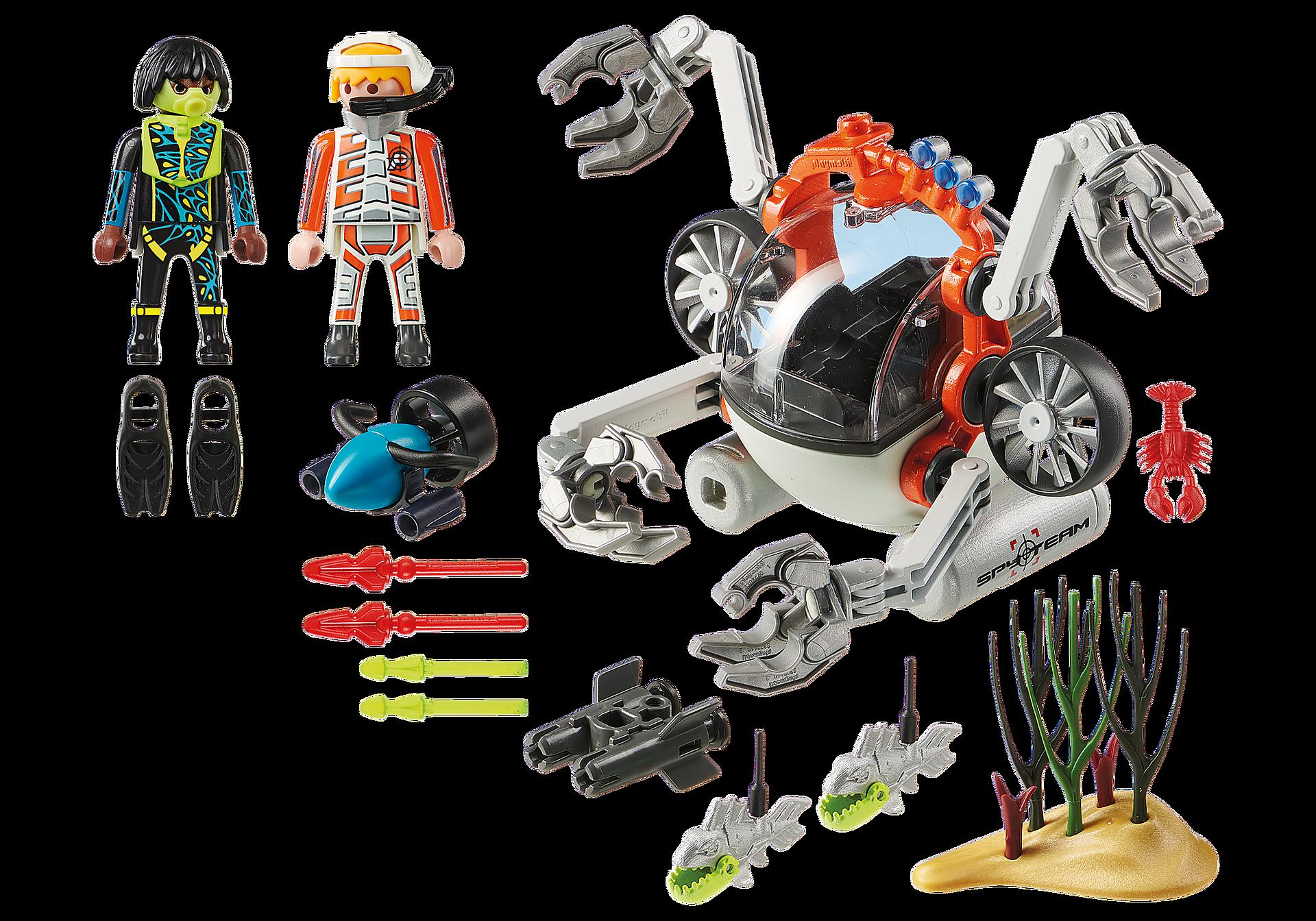 70003 Υποβρύχιο Ρομπότ της Spy Team  zoom image3