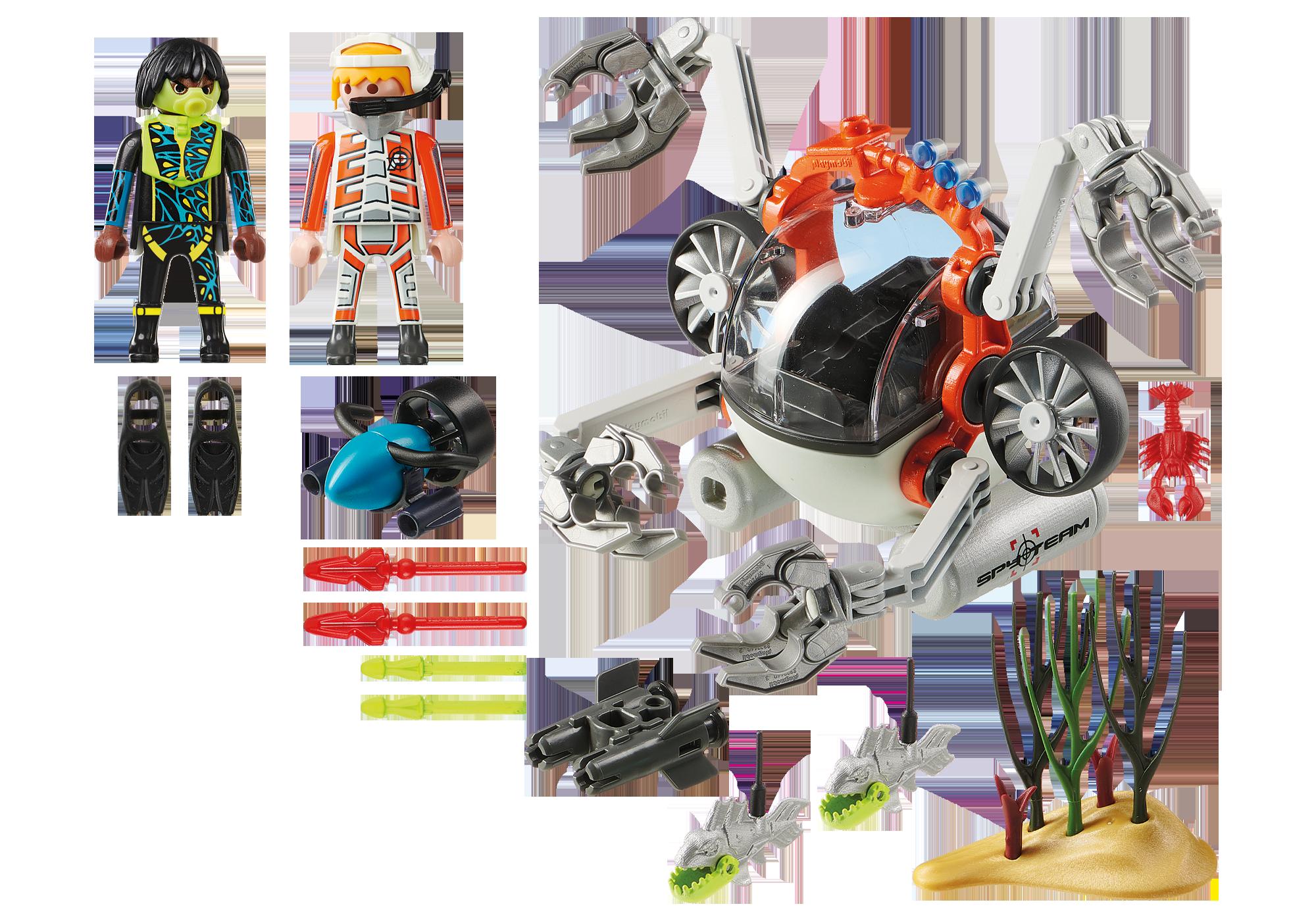 http://media.playmobil.com/i/playmobil/70003_product_box_back/Spy Team Bemande onderwaterrobot