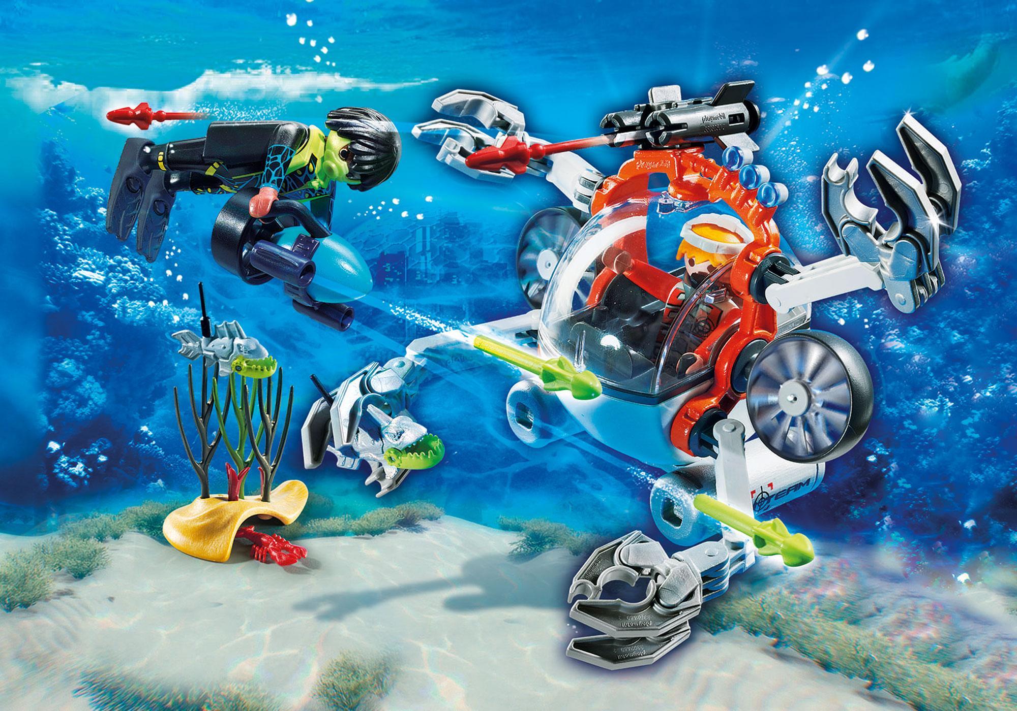 http://media.playmobil.com/i/playmobil/70003_product_detail/Spy Team Bemande onderwaterrobot