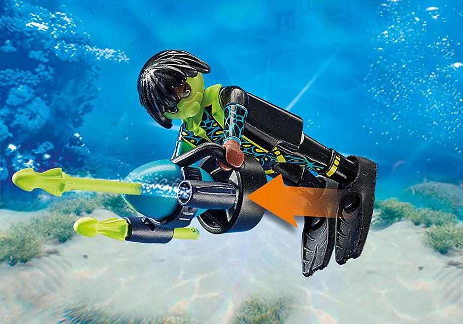 70003 Spy Team Bemande onderwaterrobot detail image 5