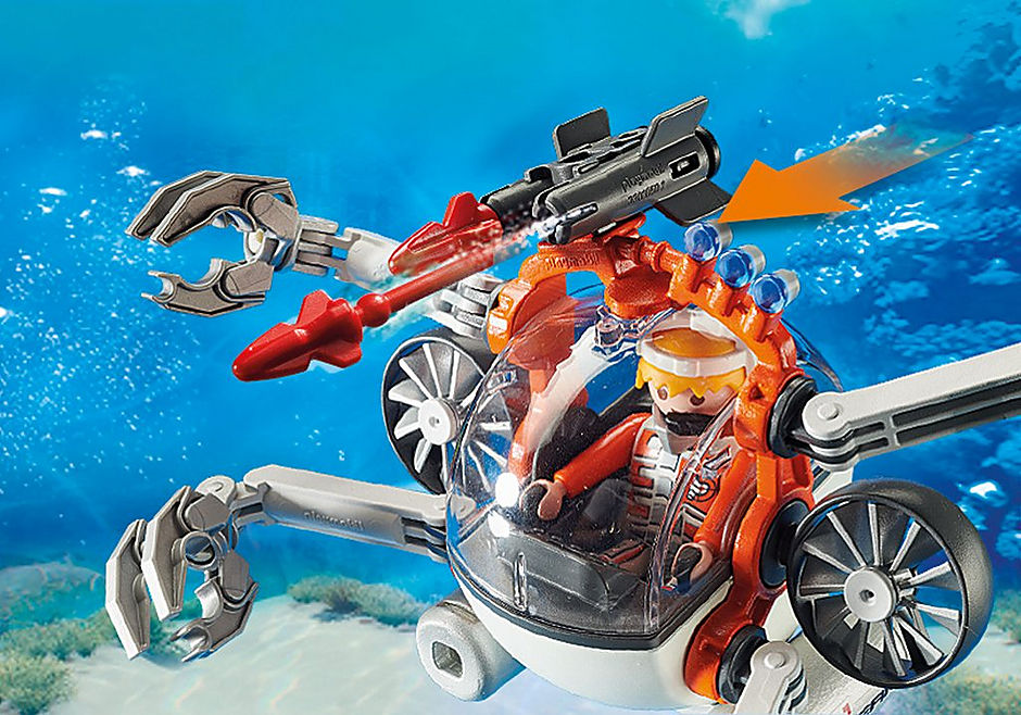 70003 Robot sous-marin Spy Team detail image 6