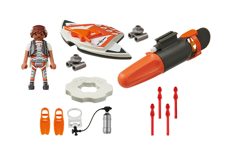70004 SPY TEAM Mergulhador com Torpedo detail image 3