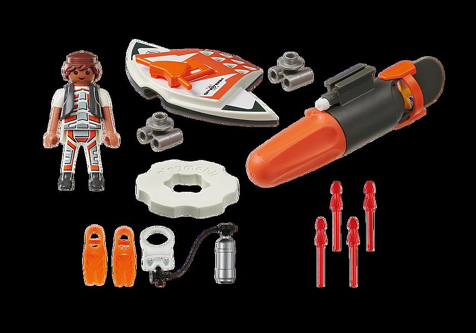 70004 SPY TEAM Pojazd podwodny z napędem detail image 3