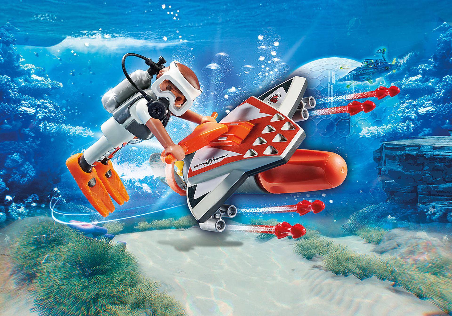 70004 SPY TEAM Mergulhador com Torpedo zoom image1