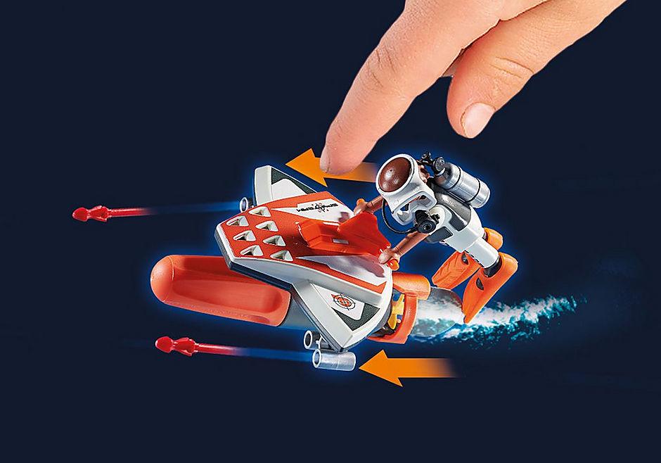 70004 SPY TEAM Mergulhador com Torpedo detail image 4