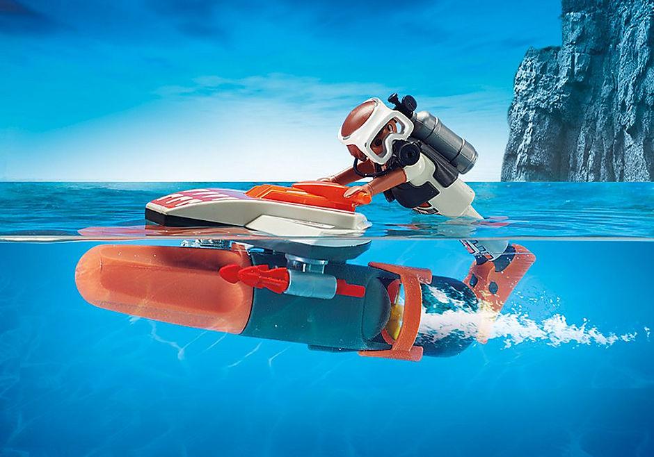 70004 SPY TEAM Mergulhador com Torpedo detail image 5