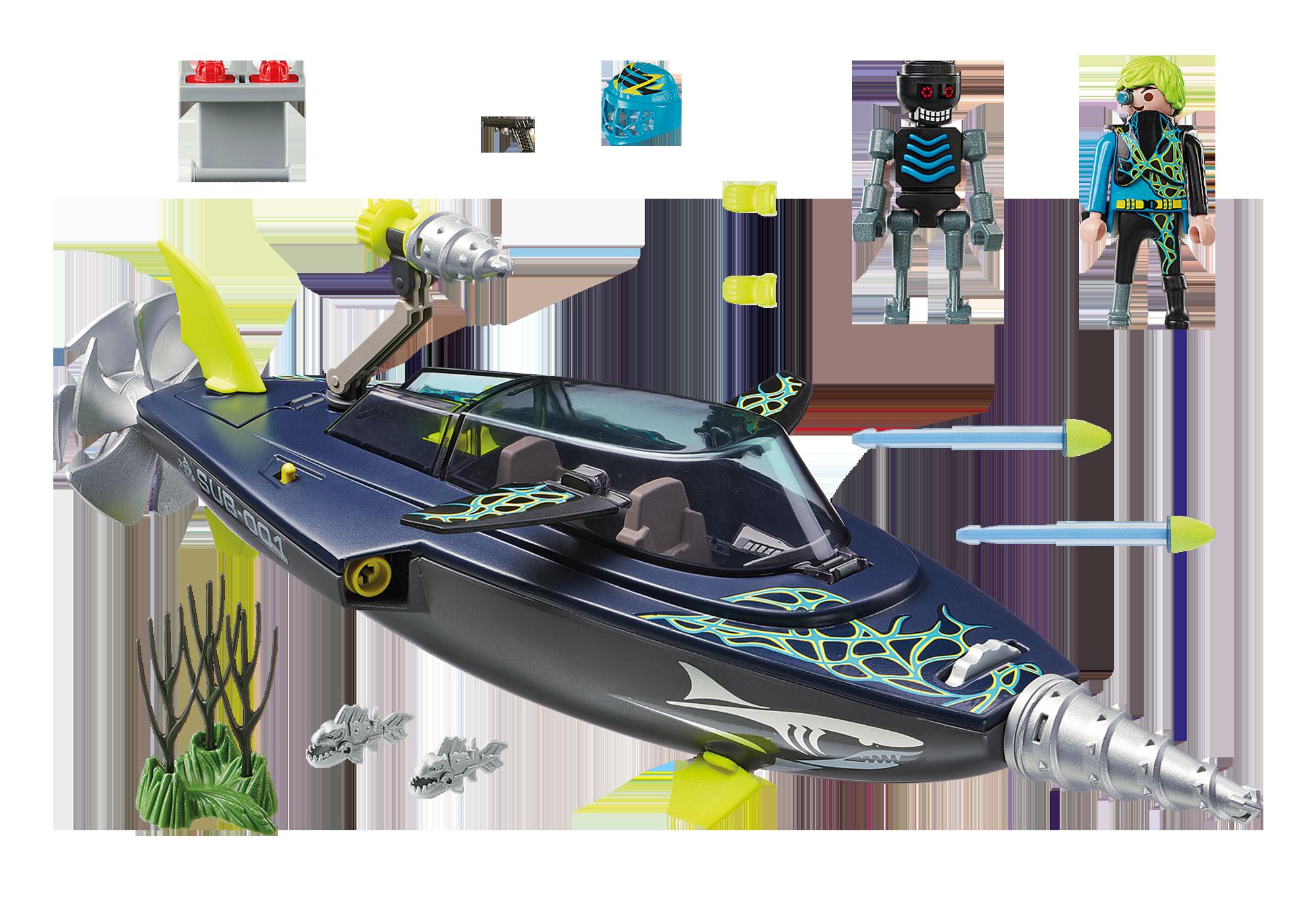 http://media.playmobil.com/i/playmobil/70005_product_box_back/Sottomarino da assalto del Team S.H.A.R.K.