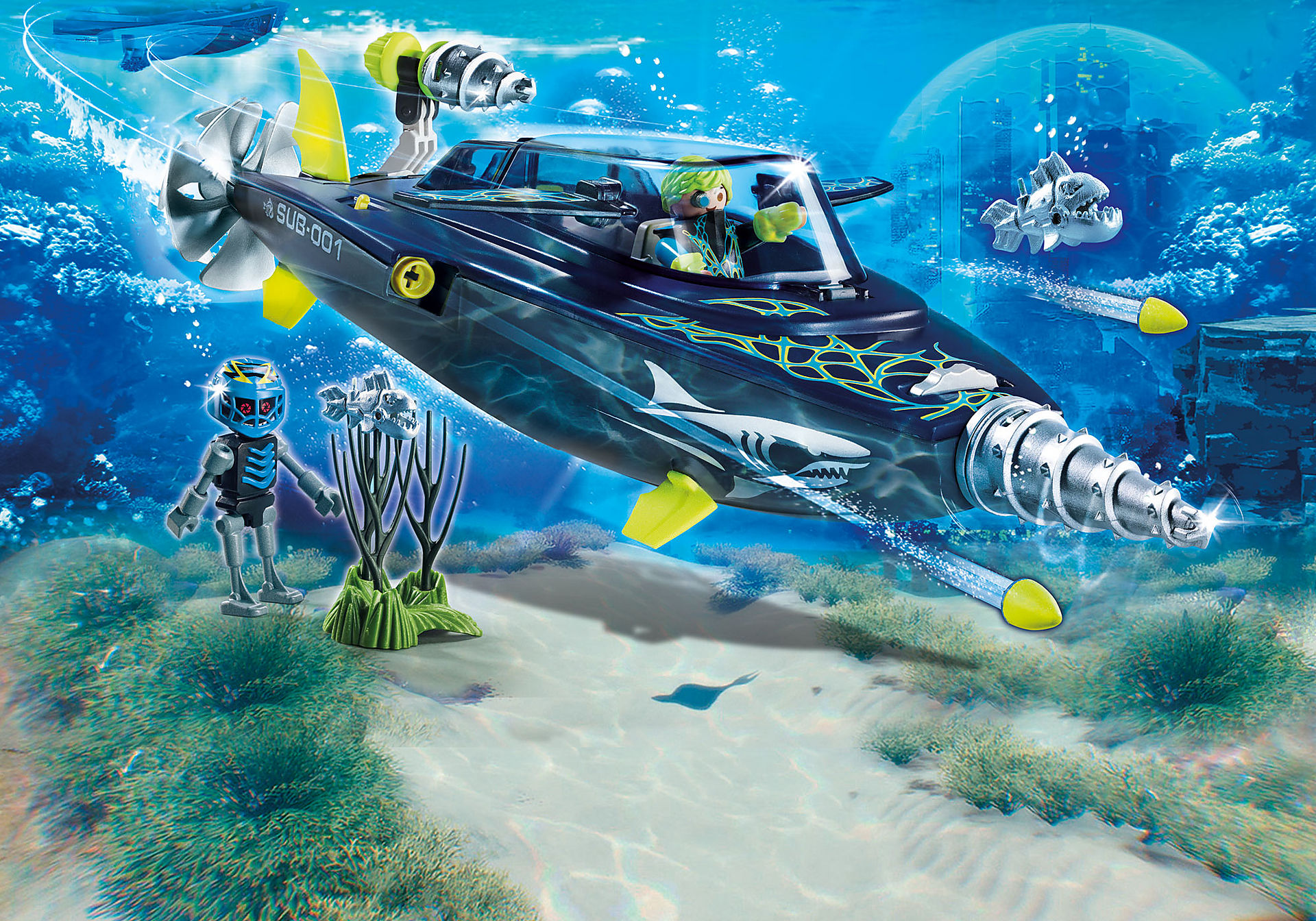 http://media.playmobil.com/i/playmobil/70005_product_detail/Sous-marin d'attaque S.H.A.R.K Team