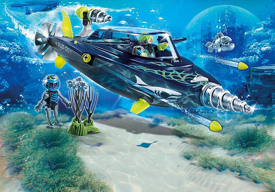 70005 Team S.H.A.R.K. Drilonderzeeër detail image 1