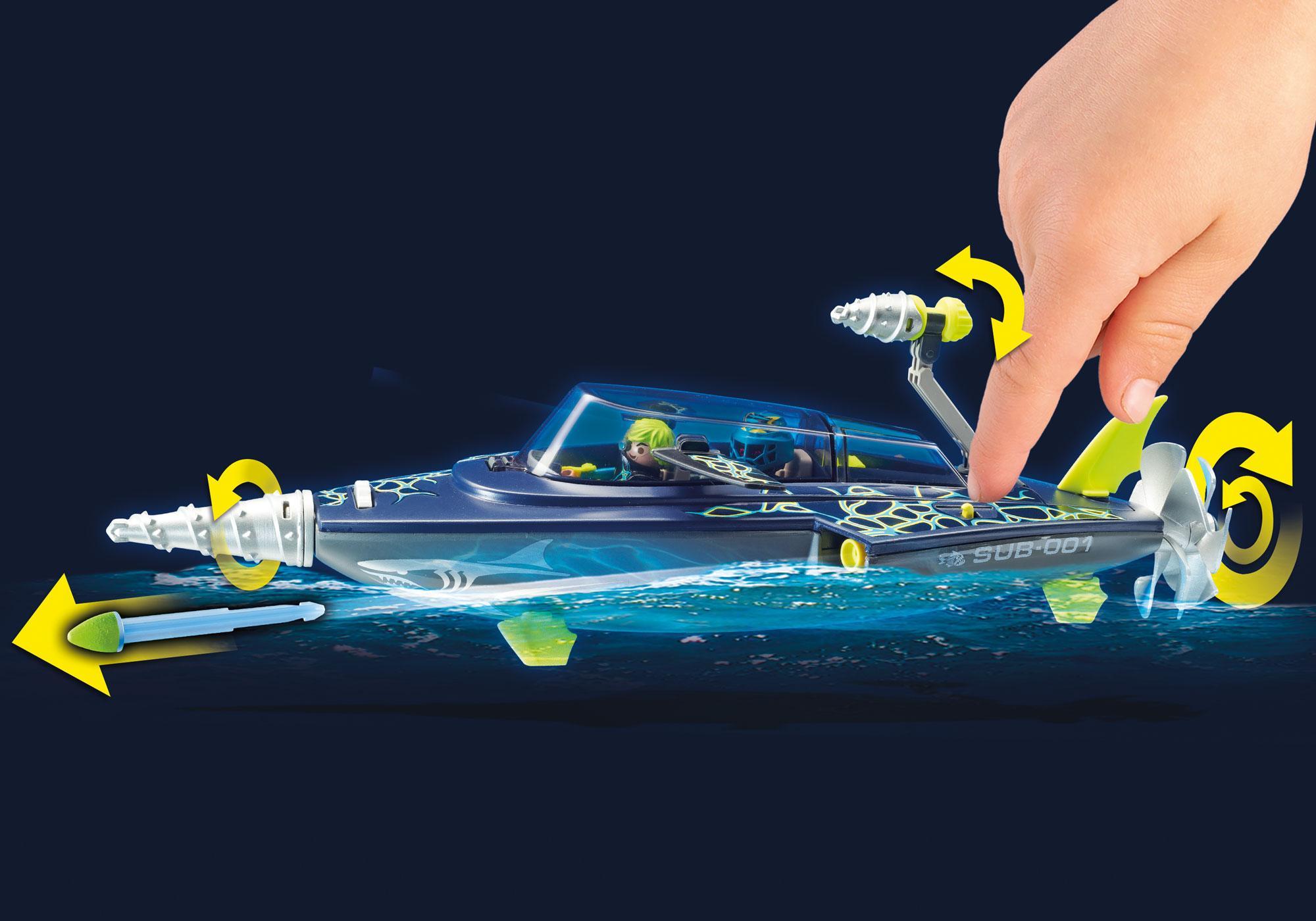 http://media.playmobil.com/i/playmobil/70005_product_extra1/Sottomarino da assalto del Team S.H.A.R.K.