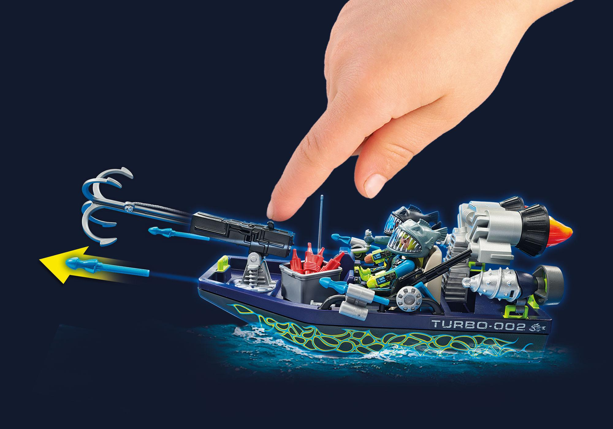 http://media.playmobil.com/i/playmobil/70006_product_extra1/TEAM S.H.A.R.K. Harpoon Craft