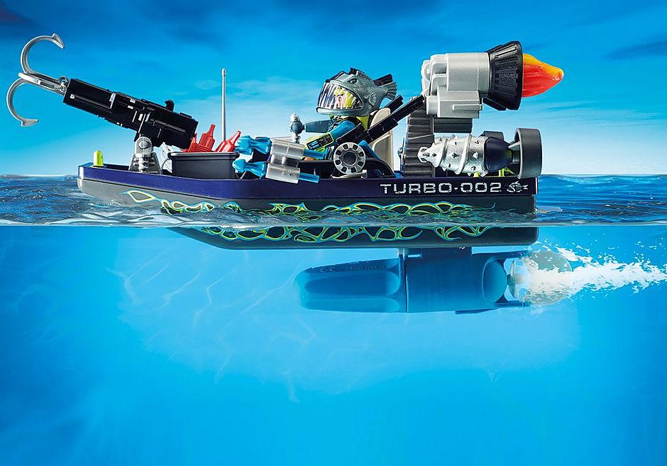 70006 Ταχύπλοο της SHARK Team και Kitesurfer  detail image 5