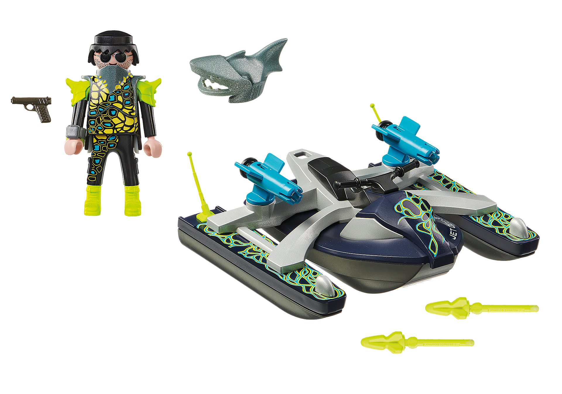 http://media.playmobil.com/i/playmobil/70007_product_box_back/TEAM S.H.A.R.K. Raketflotte