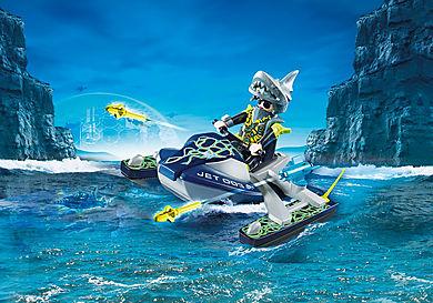 70007 Moto d'acqua con lanciarazzi del Team S.H.A.R.K.