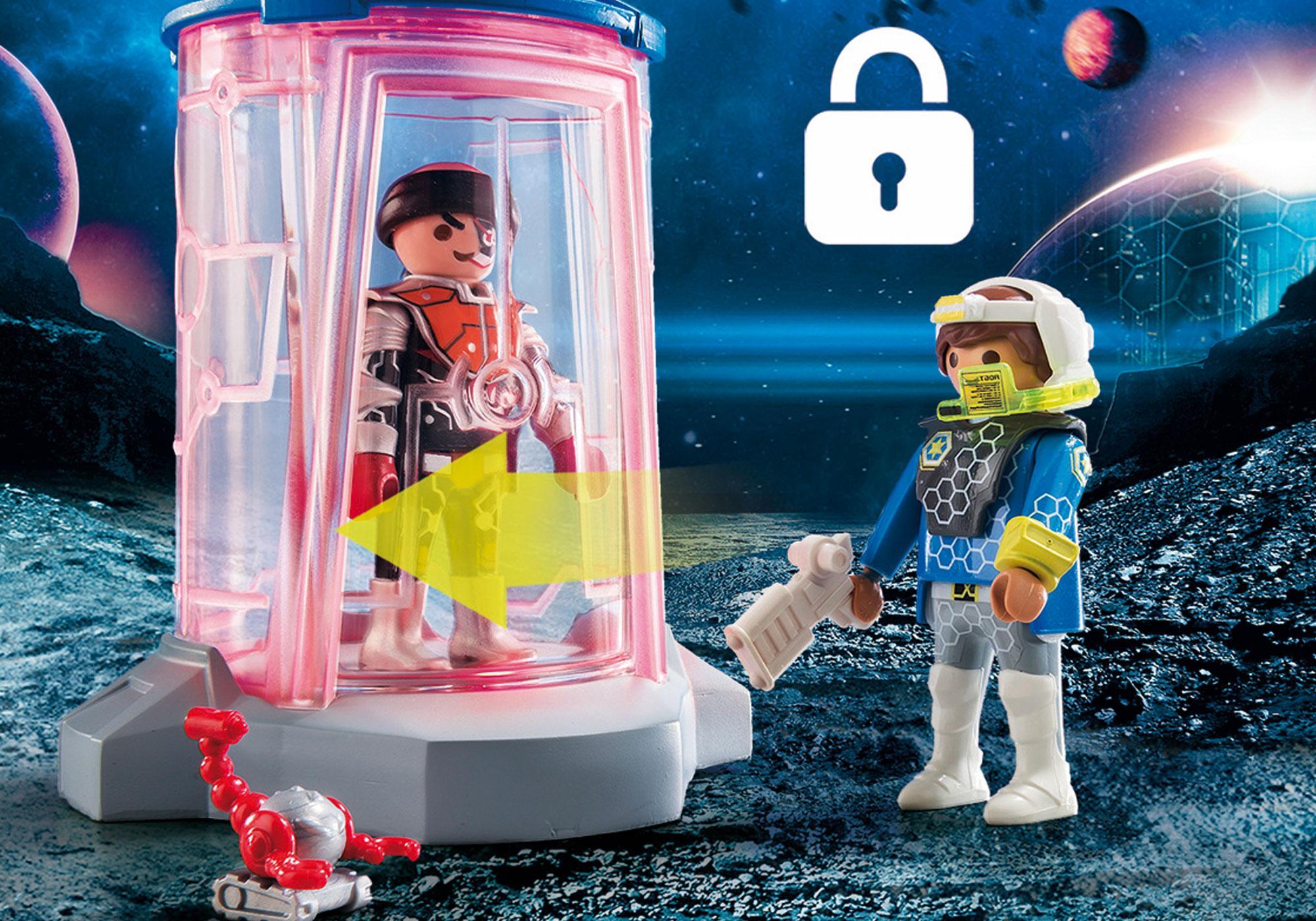 http://media.playmobil.com/i/playmobil/70009_product_extra2/SuperSet Galaxy Police Gefängnis
