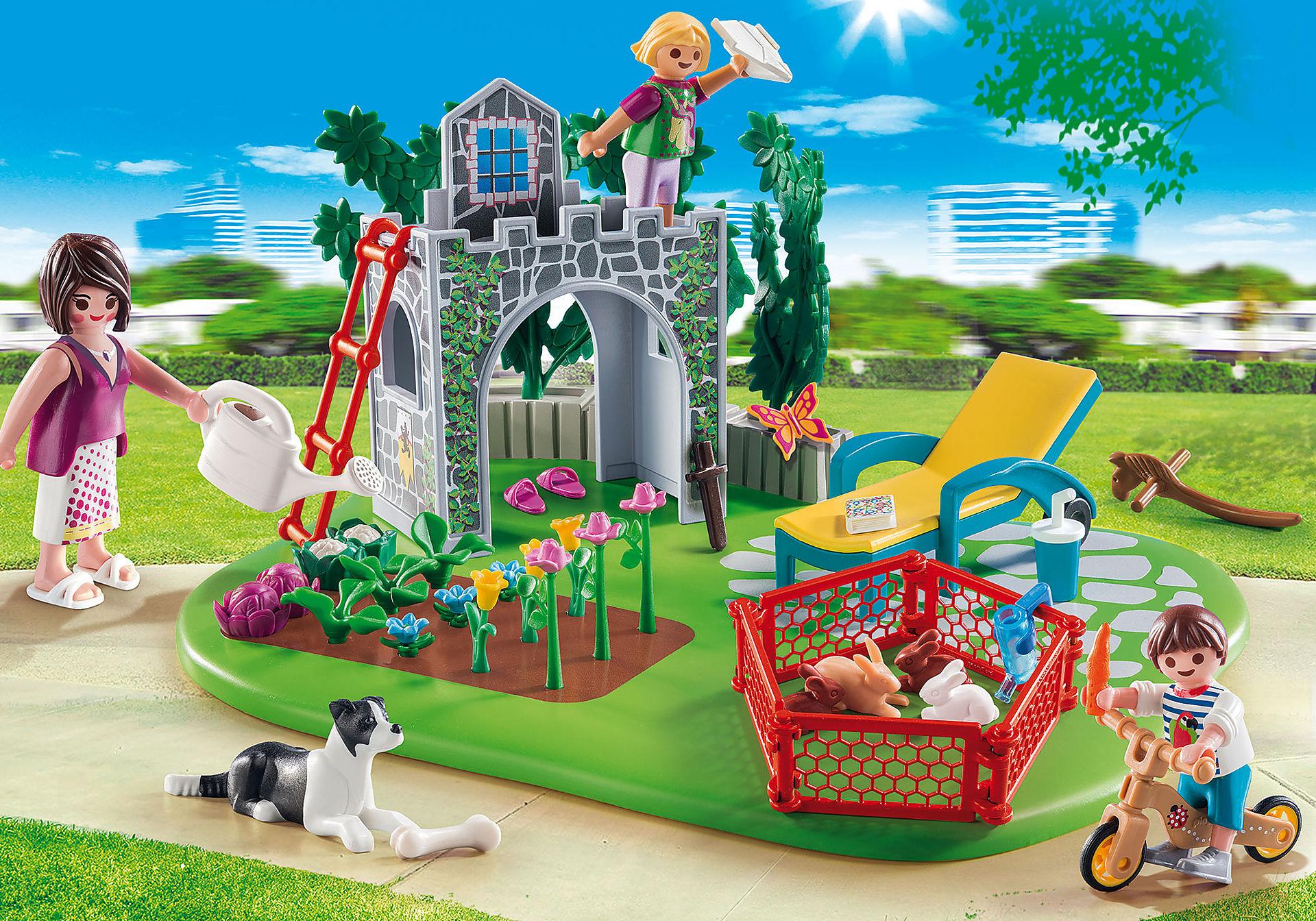 70010 SuperSet Familia en el Jardín zoom image1