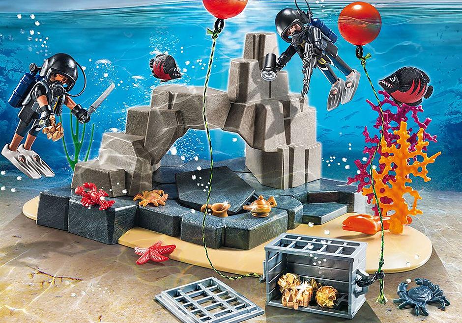 70011 SuperSet Unité de plongée sous-marine detail image 1