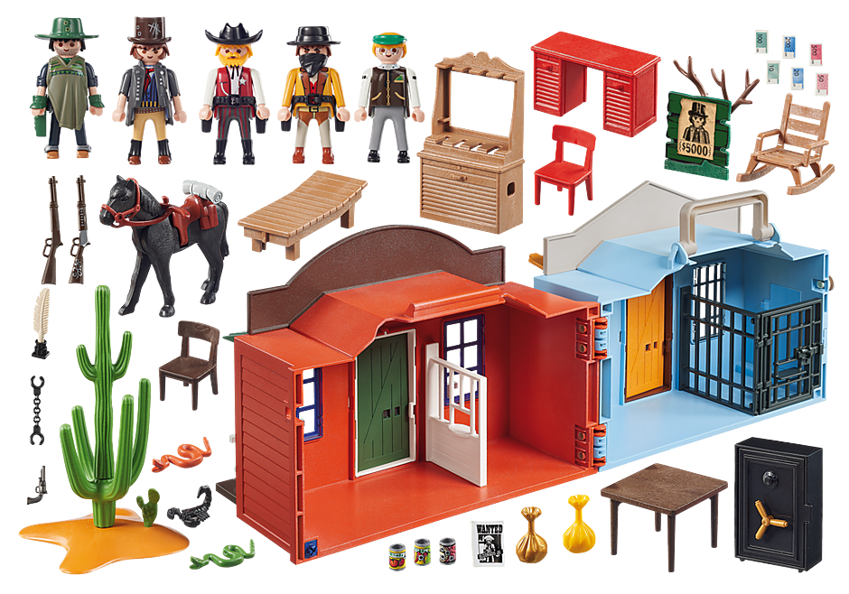 http://media.playmobil.com/i/playmobil/70012_product_box_back/Βαλιτσάκι Άγρια Δύση