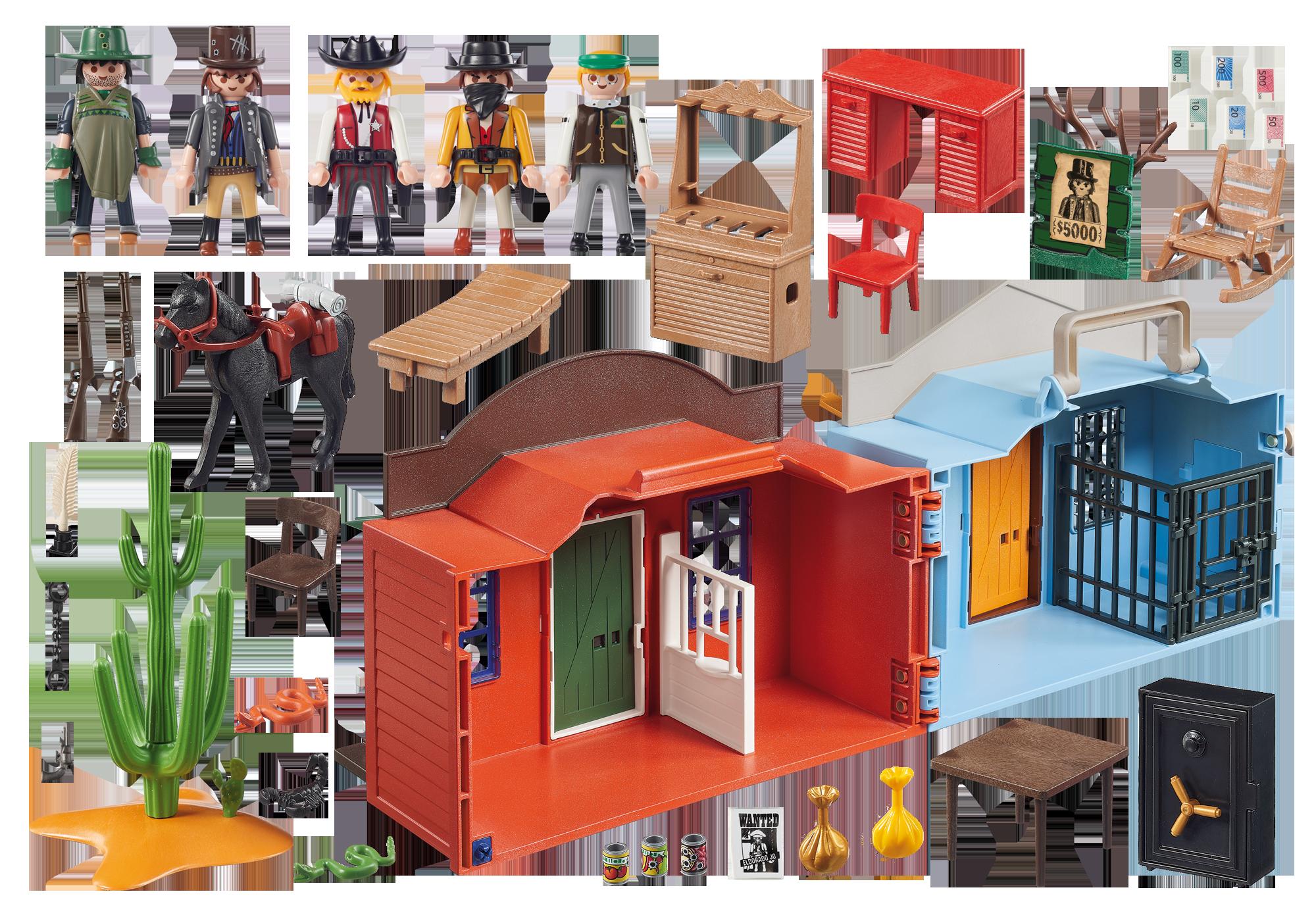 http://media.playmobil.com/i/playmobil/70012_product_box_back/Cidade do Oeste Maleta