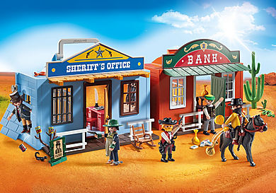 70012 Coffret de Far-West transportable