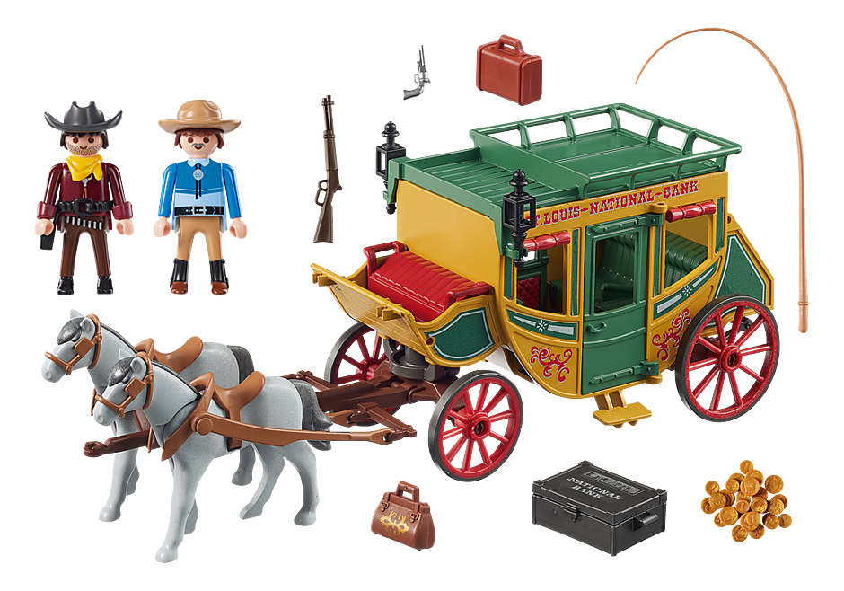 70013 Western Stagecoach detail image 3